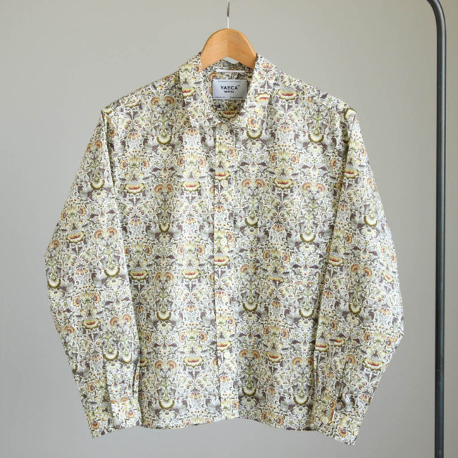YAECA シャツ
