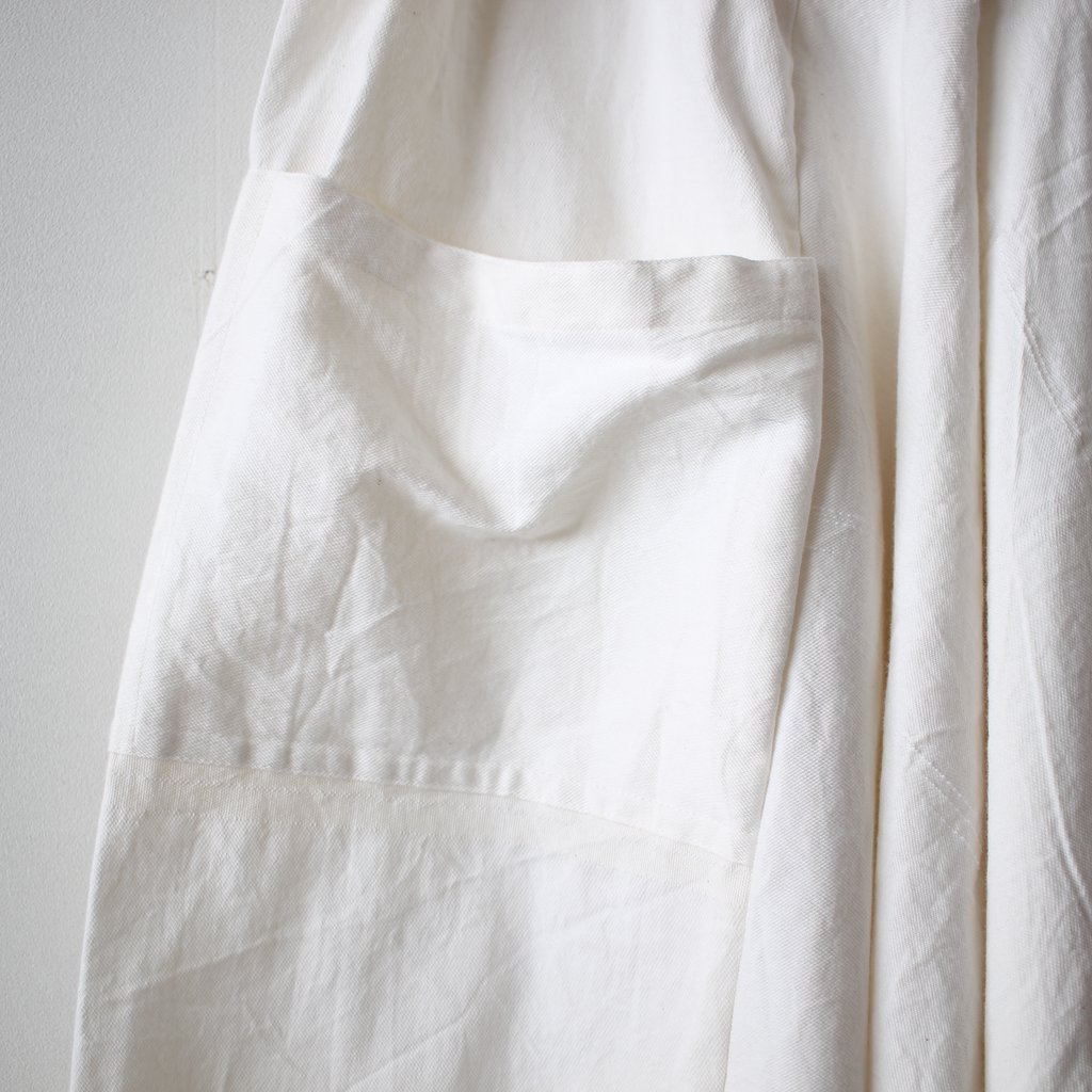 basic tarun pants LONG #white
