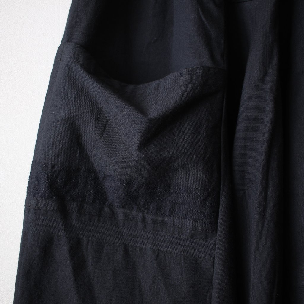 basic tarun pants LONG #black