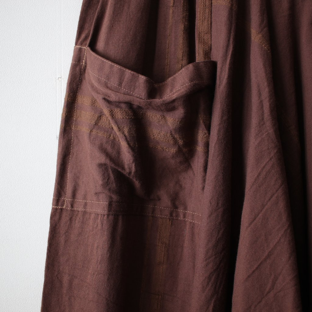 basic tarun pants LONG #brown
