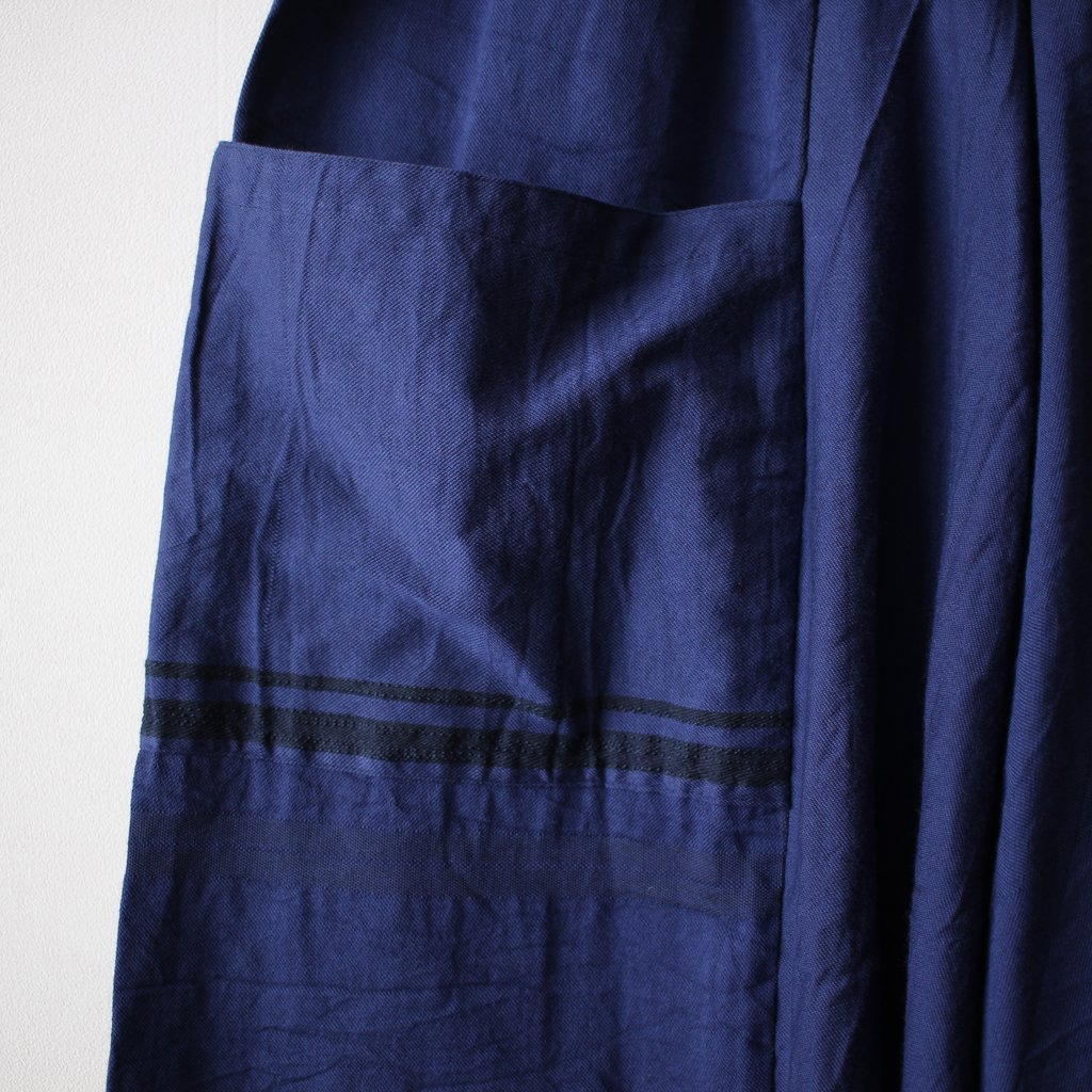 basic chotan skirt LONG #navy