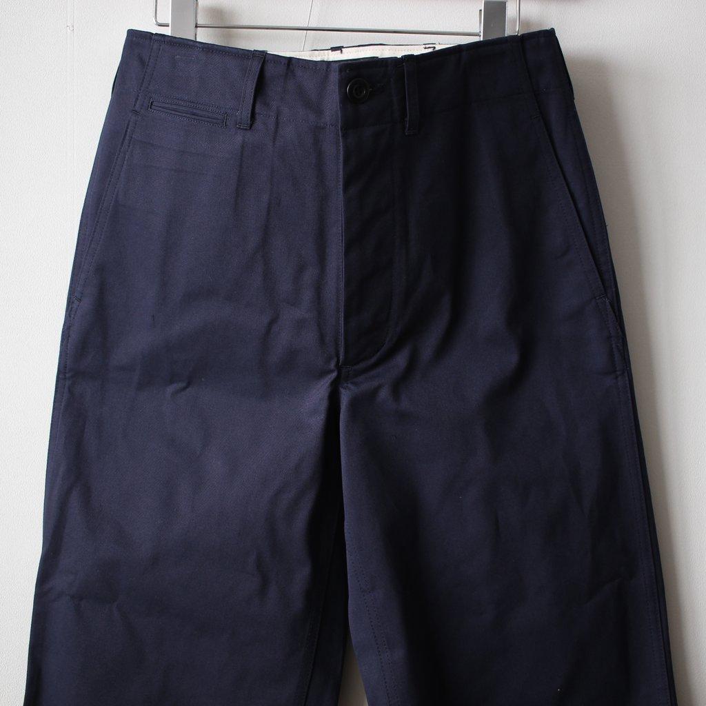 CHINO CLOTH PANTS #navy