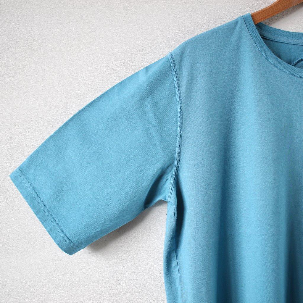 サップルテンジクハーフスリーブTシャツ #turquoise
