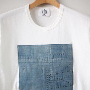 襤褸ショートスリーブTシャツ #white M