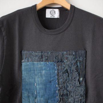 襤褸ショートスリーブTシャツ #black M