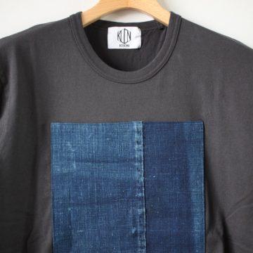 襤褸ショートスリーブTシャツ #black L