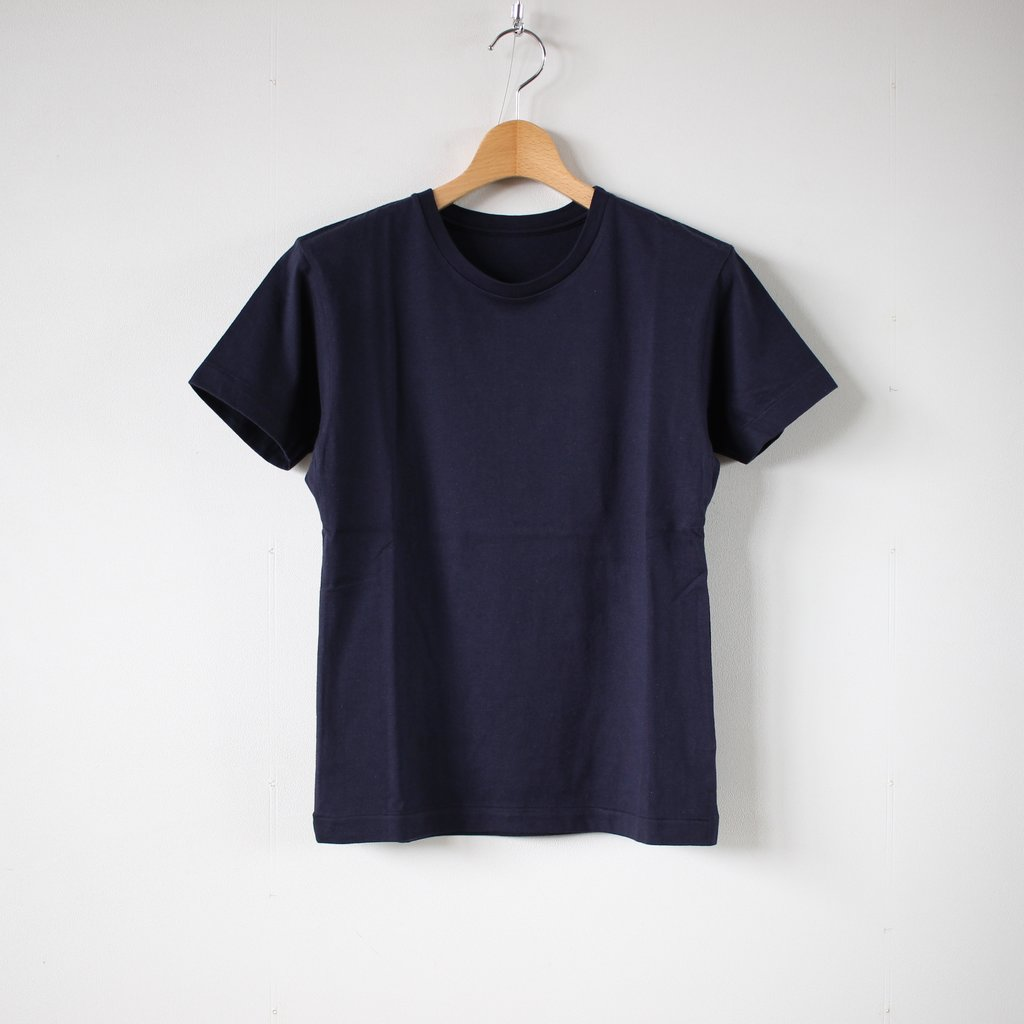 スーピマオーガニックコットンTシャツ #navy