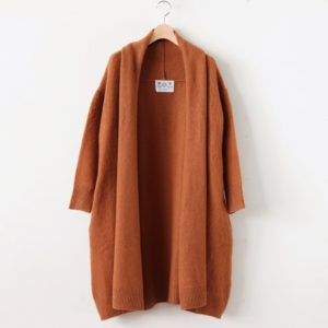 SHAGGY LONG CARDIGAN #COYOTE [no.3901]