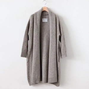 SHAGGY LONG CARDIGAN #GREIGE [no.3901]