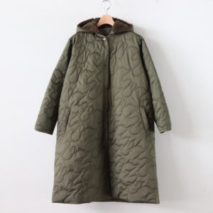 SWAN LAKE/COAT #KHAKI [sa19303-1]