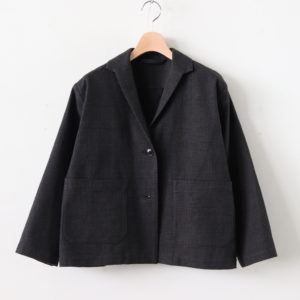 BERG COTTON CK JACKET #BROWN/BLACK CHECK [A232192TJ386]