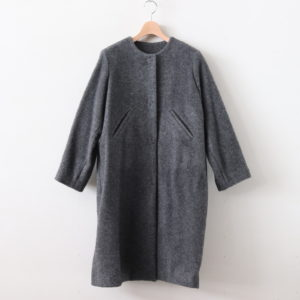 SEURAT WOOL&ALPACA COAT #GRAY [A232142TC153]
