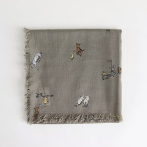 FARMERS FAMILY GAUZE SHAWL #LAUREL [no.3955]