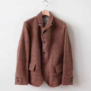 WINDOW PANE JACKET #BROWN [no.3871]