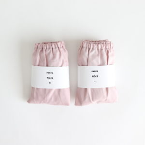 PANTS #NO.5 MAUVE PINK
