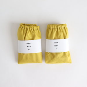 PANTS #NO.4 MUSTARD YELLOW
