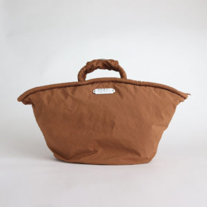 GARMENT DYE MARCHE BAG #BROWN [no.4031]