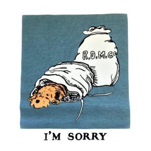 I'M SORRY(ごめんなさい・・・)