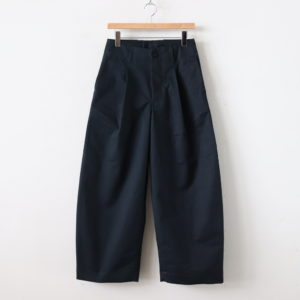 HW WIDE TROUSERS - 備前壱号 #CHARCOAL [TR-32-001501]