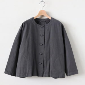 ROHE COTTON JACKET #D.GRAY [A232172TJ301]
