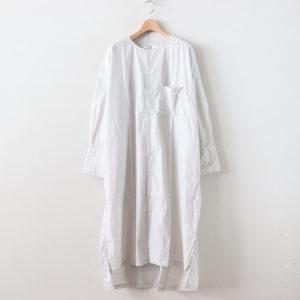 タイプライターシャツドレス #LIGHT GRAY [US190OP040]