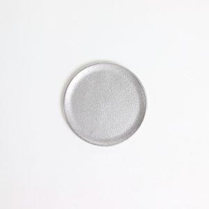 ラウンドトレー シルバー S #アルミニウム [60003]