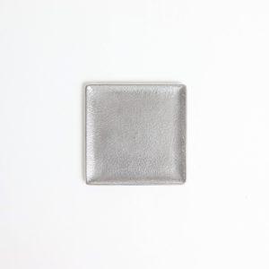 スクエアトレー シルバー S #アルミニウム [60007]