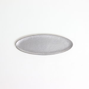 オーバルトレー シルバー S #アルミニウム [60011]