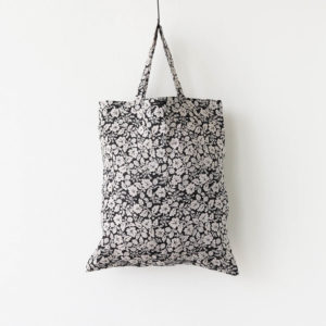 WILD BERRY TOTE BAG #FLAX [no.4364]