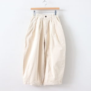 CIRCUS PANTS CHINO CLOTH GARMENT DYED #IVORY [A11709]