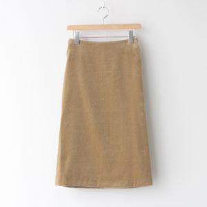 エプロンスカート #BEIGE [TH20W0010]