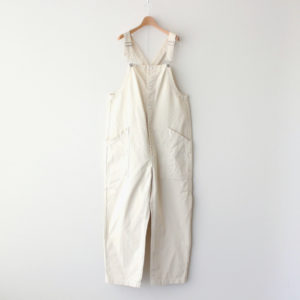 CHINO CLOTH OVERALLS #IVORY [A12008]