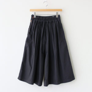 CULOTTES 40 COMBED TWILL #NAVY [A21501]