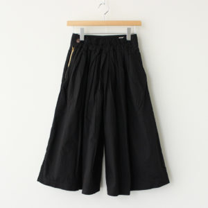 CULOTTES 40 COMBED TWILL #BLACK [A21501]