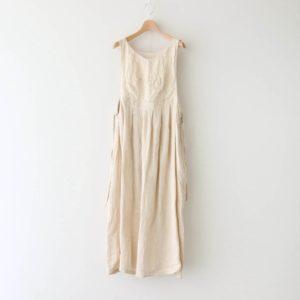 寧静(ねいせい)なるPINAFORE DRESS #エクリュ [TLF-121-op007-F]