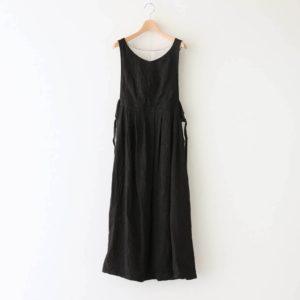 寧静(ねいせい)なるPINAFORE DRESS #ブラック [TLF-121-op007-F]