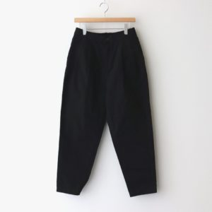 EASY EGG PANTS CHINO CLOTH GARMENT DYED #BLACK [A11913]