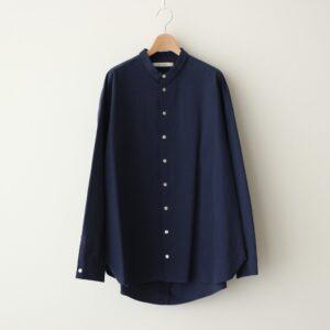 ヘムレンシャツ #PREDAWN BLUE [21-301]