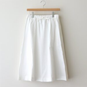 BRUNEL SKIRT #WHITE [A232201PS410]