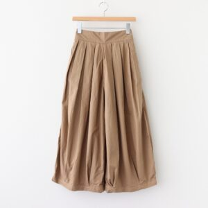 CIRCUS CULOTTES 40 COMBED TWILL #BEIGE [A21609]