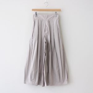 CULOTTES 40 COMBED TWILL #GRAGE [A21501]