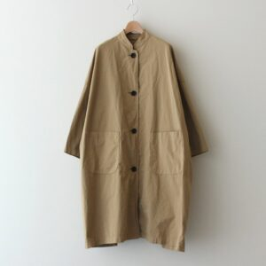 GARMENT DYE OVER SIZE COAT #BEIGE [no.4631]