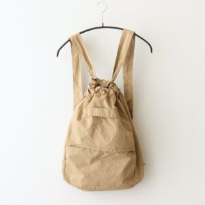 GARMENT DYE DAY BAG #BEIGE [no.4639]