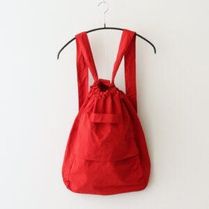 GARMENT DYE DAY BAG #RED [no.4639]
