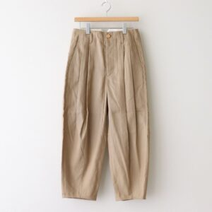SAKURASHI OXFORD TROUSERS #BEIGE [211502]