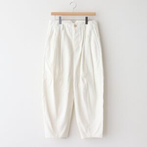 SAKURASHI OXFORD TROUSERS #OFF WHITE [211502]