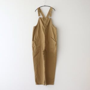 OVERALLS CHINO CLOTH GARMENT DYED #KHAKI BEIGE [A12008]