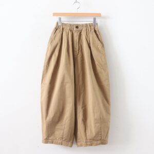 CIRCUS PANTS CHINO CLOTH GARMENT DYED #KHAKI BEIGE [A11709]