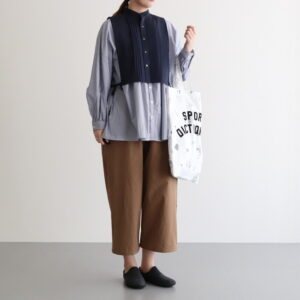 DOKODOの装い [ the last flower of the afternoon / UNIVERSAL TISSU / Atelier d'antan / R&D.M.Co- OLDMAN'S TAILOR / AUTTAA ]