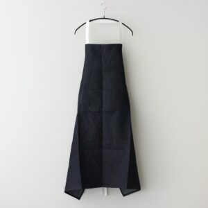 LINEN DENIM APRON #INDIGO [no.4703]